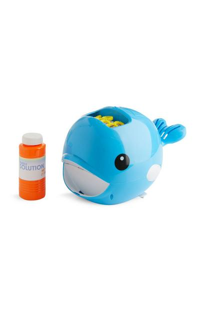 Whale Bubble Machine Toy