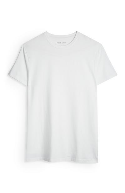 Lang wit T-shirt met stretch