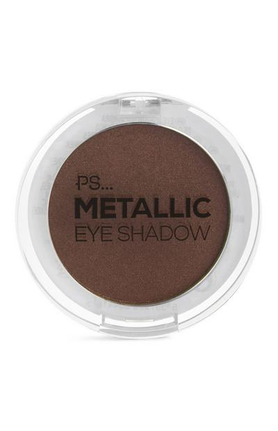 Sombra de ojos «METALLIC» en tono «Warm Chocolate» de PS Pro