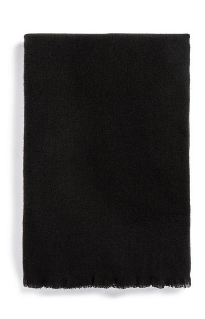 Black Oversized Scarf