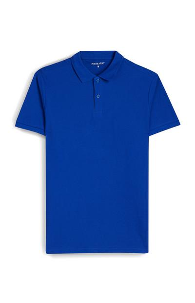 Polo blu