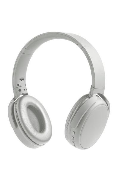 Silver Premium Wireless Headphones
