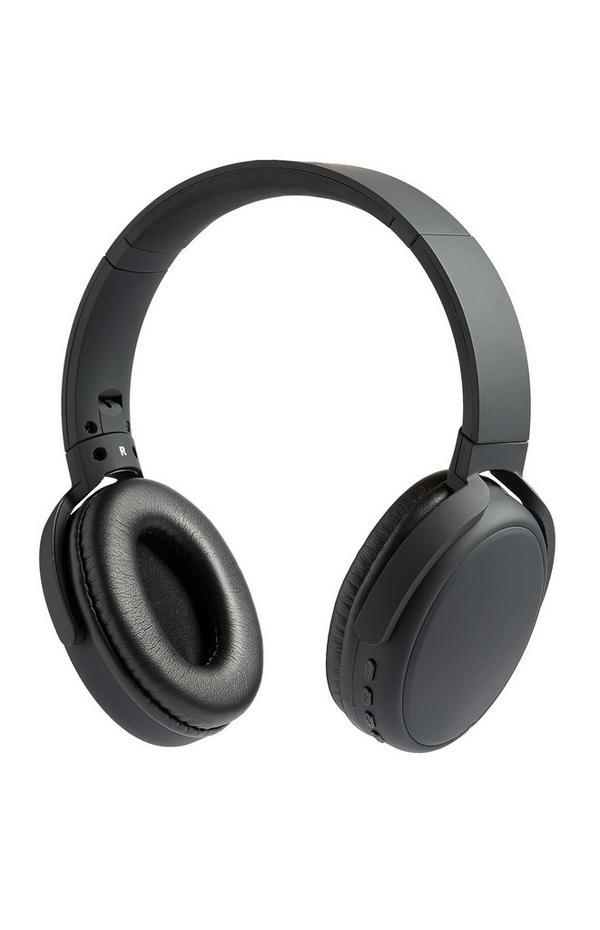 Casque audio noir Premium sans fil