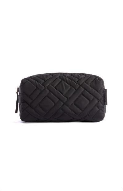 Black Recycled Makeup Bag