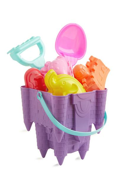 Purple Beach Bucket Set