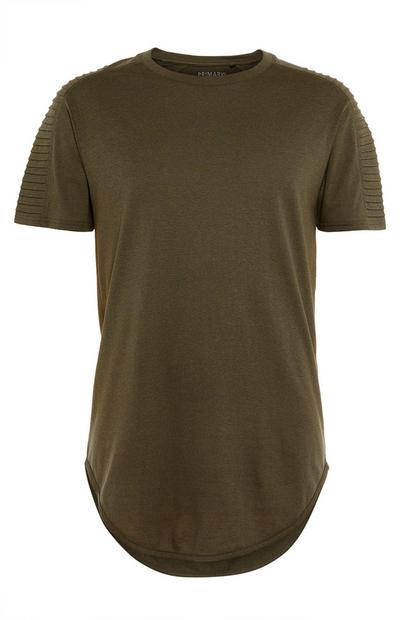 Khaki Biker Grindle T-Shirt