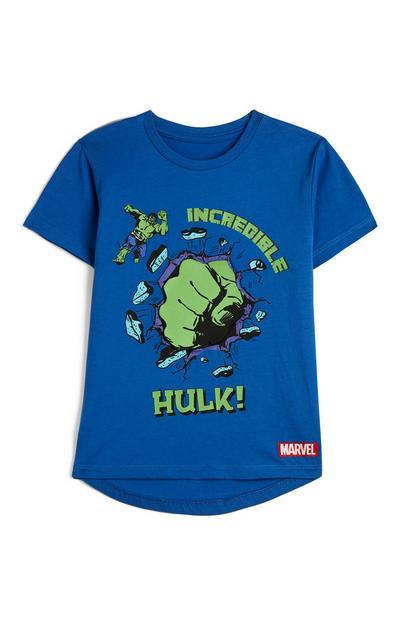 Blauw T-shirt Marvel Incredible Hulk