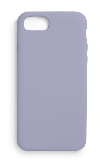 Coque de téléphone violette unie