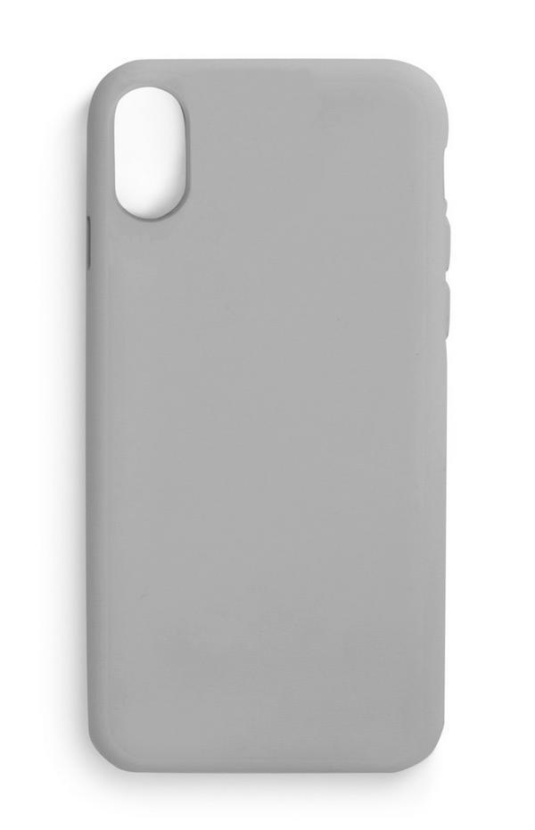 Coque de téléphone gris uni