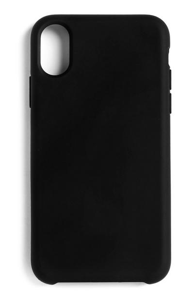 Black Silicone Phone Case