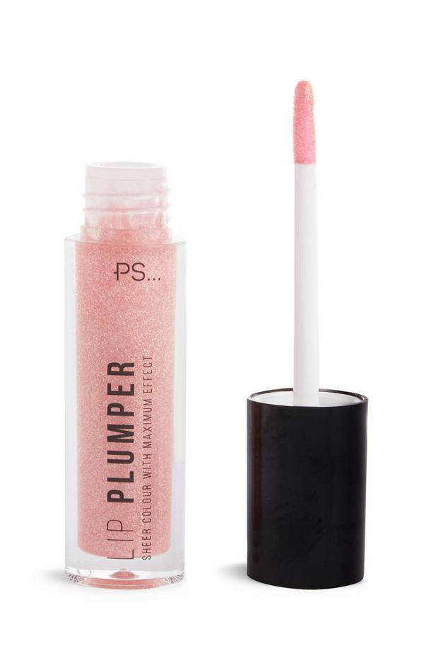 """Rosa schimmernder """"Lip Plumper""""-Gloss"""