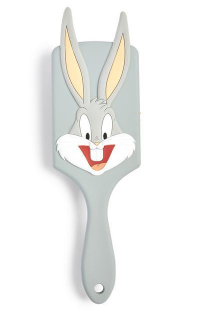 Grey Looney Tunes Bugs Paddle Hairbrush