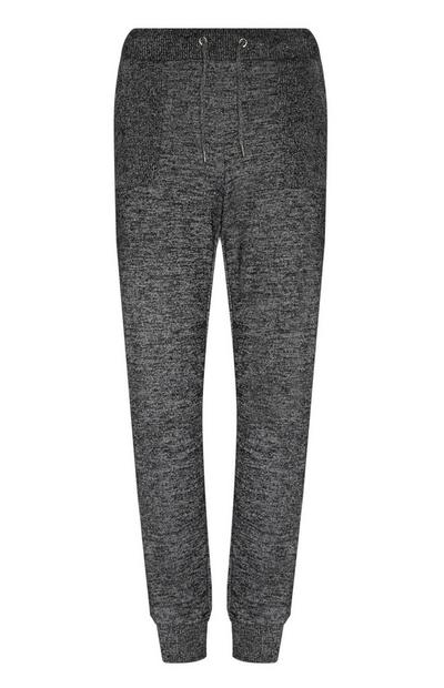 Jogging doux anthracite