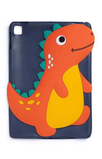 Blue Dinosaur Tablet Cover