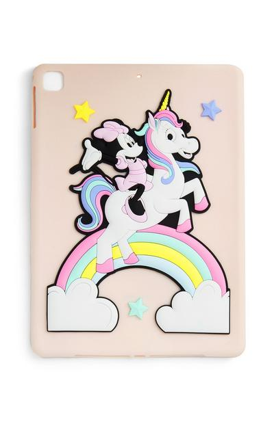 Funda para iPad con unicornio de Minnie Mouse