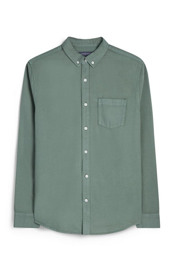 Khaki Button Up Shirt