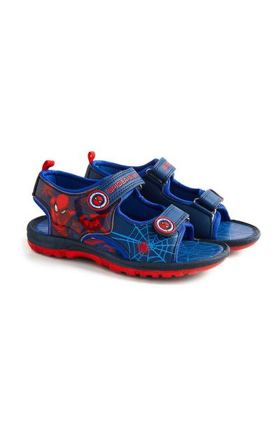 """Spider-Man"" Sandalen in Marineblau"