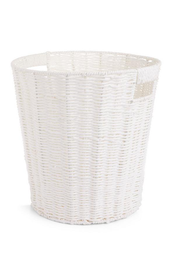 White Paper Rope Basket