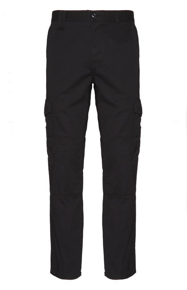 Black Worker Cargo Pants