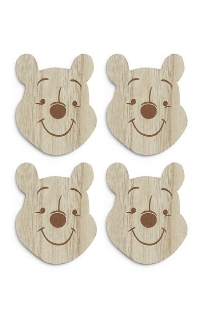 Wooden Winnie The Pooh Coasters