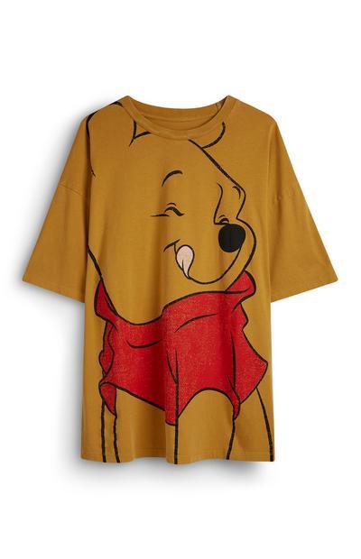 """Gelbes T-Shirt mit """"Winnie Puuh""""-Motiv"""
