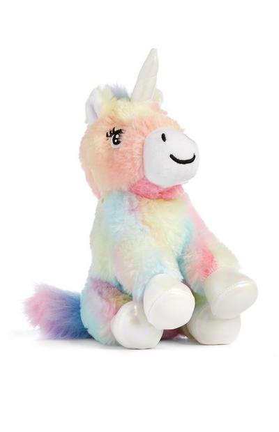 Multicolor Unicorn Plush