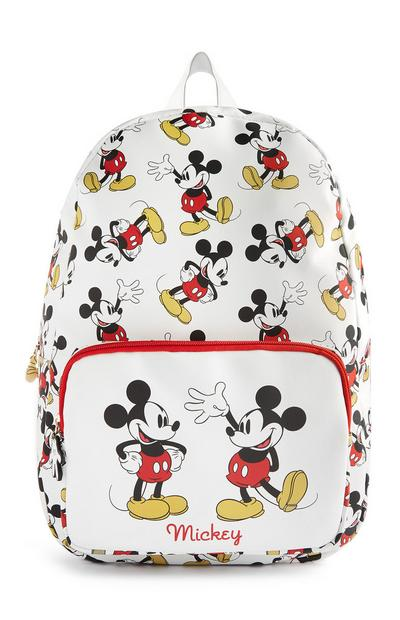 Sac à dos Mickey Mouse blanc
