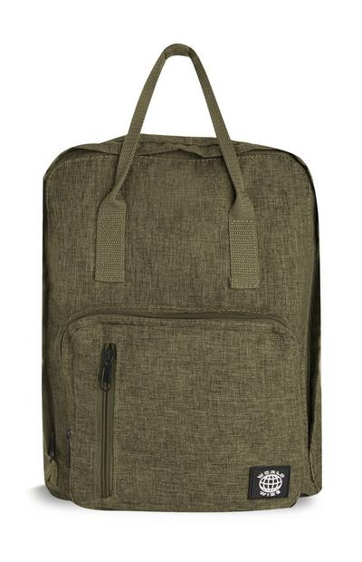 Dark Grey Tote Backpack
