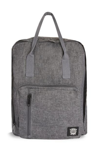 Light Grey Tote Backpack