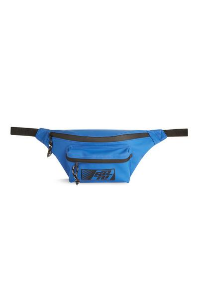 Modra torbica za okoli pasu