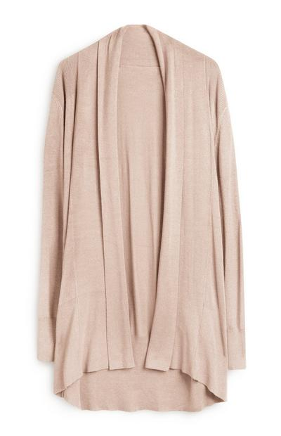 Long Camel Cardigan