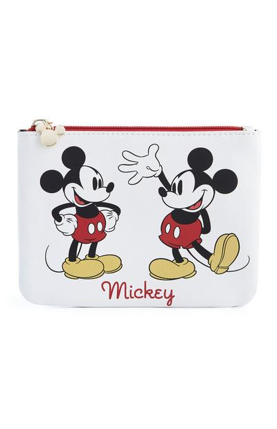 White Mickey Mouse Pouch