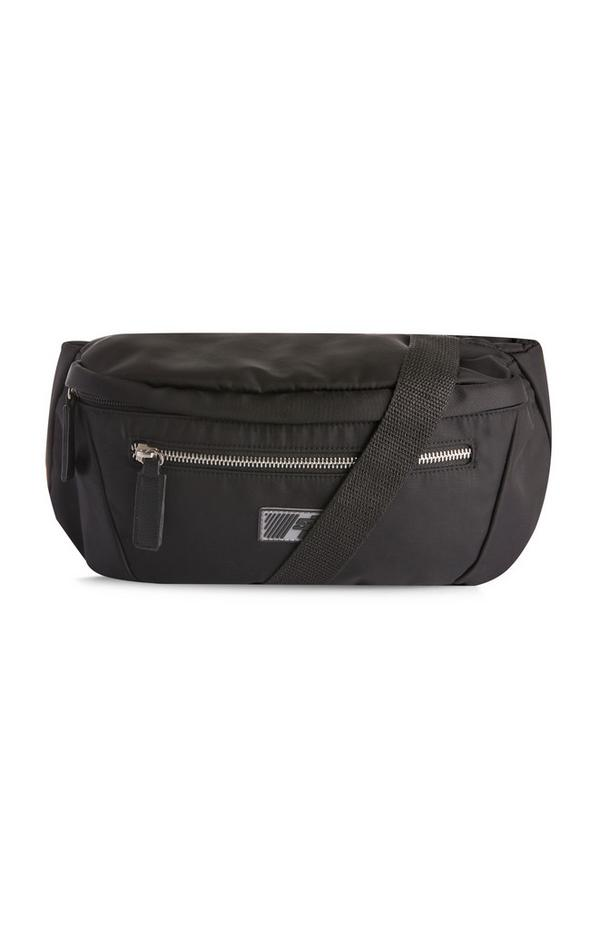 Large Black Fanny Pack