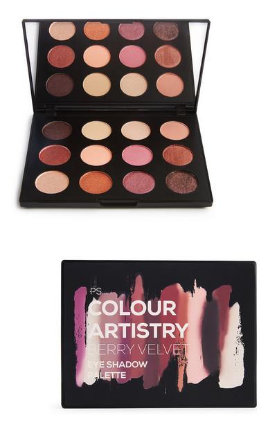 PS Pro Berry Velvet Artistry Eyeshadow Palette