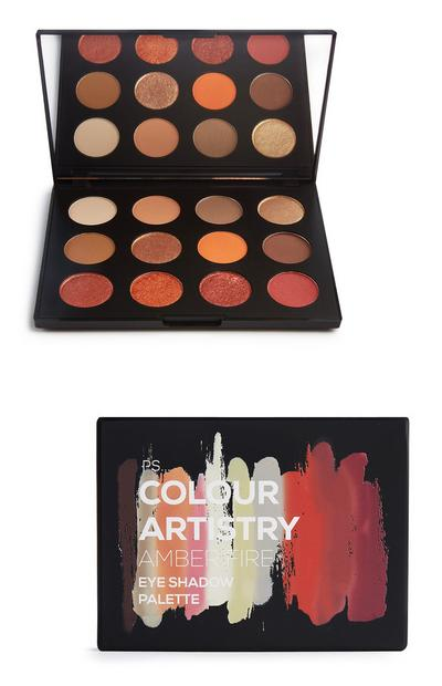 PS Pro 12 Shade Artistry Palette in Amber Fire