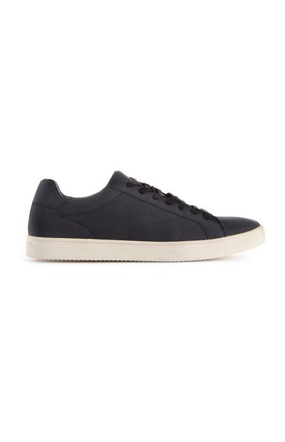Navy Low Top Trainers