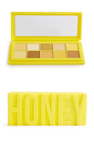 "Lidschattenpalette ""Honey 10 Shadow"" aus Silikon"