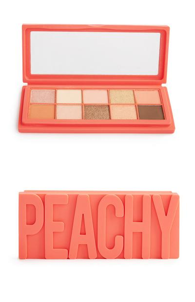 Peachy 10 Shade Silicon Eyeshadow Palette