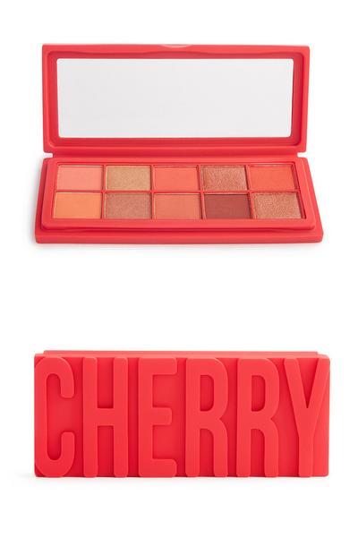 Cherry 10 Shade Silicon Eyeshadow Palette
