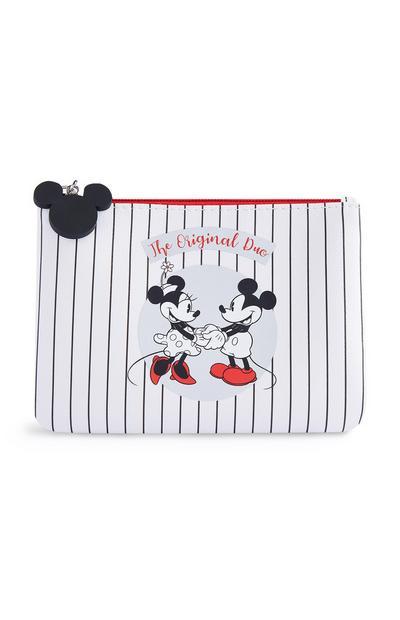 Bolsa Mickey e Minnie branco