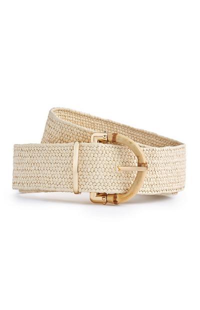 Chunky Straw Belt