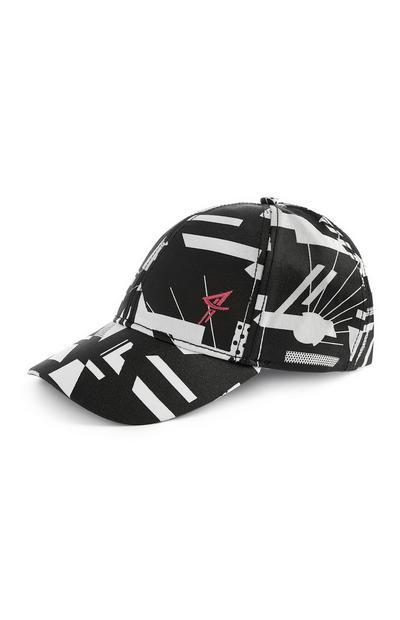 Monochrome Patterned Cap