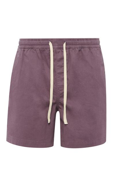 Weinrote Rugby-Shorts