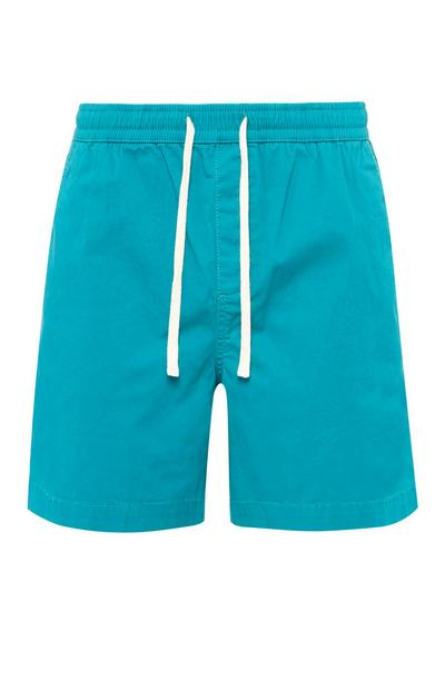 Turquoise Rugby Shorts