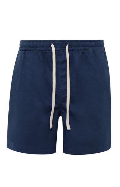 Marineblaue Rugby-Shorts