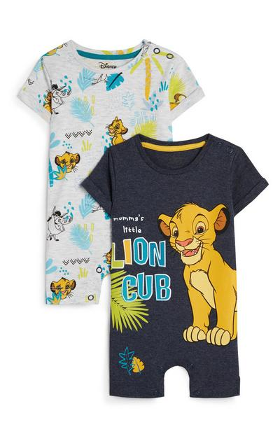 Rompertje The Lion King voor jongens, 2 st.