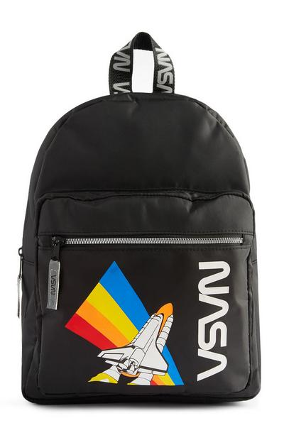 Black NASA Backpack