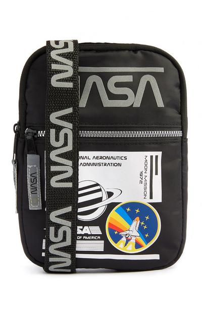 Black NASA Crossbody