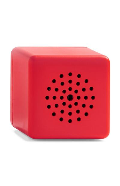 Red Mini Cube Wireless Speaker