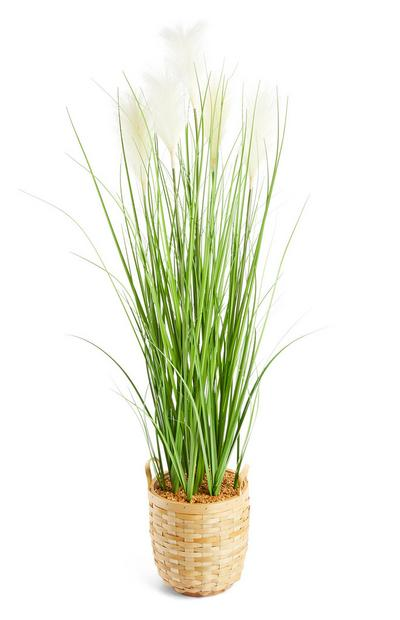 Natural Grass Faux Grass Plant